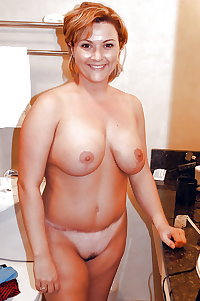 Real amateurs standing naked and exposed 8