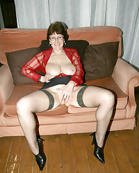 Stockings mature takes two
