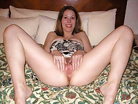 Mature slut getting wet on the couch