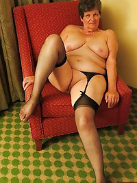 Nasty grannies in sexy lingerie Marketa and Leona licks and toys their wet beavers