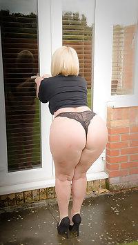 Naughty mature slut riding her dildo