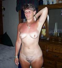 Nice mom licks her tits
