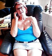 Hot granny's nude and non nude