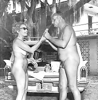 Vintage Nudist Camp