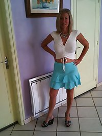 Slutty amateur mom Dominique from facebook