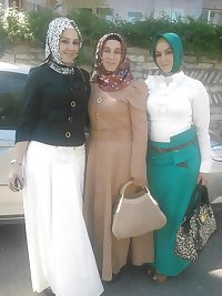 Turkish arab turbanli hijab asian mini
