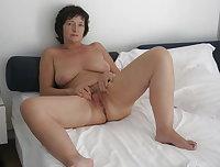 Orgy with a beautiful grandma