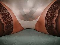 Mature ladies in Panty-girdle and panties