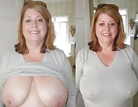 Clothed and Nude 44  more Milfs and Matures