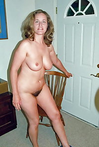 Mature moms and wives posing and getting used