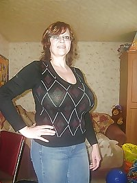 Russian mature moms and their adult boys! Amateur!