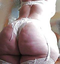 BBW Mature Big Butt - Chubby Plumper Ass