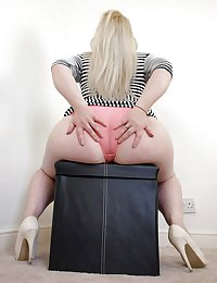 BBW Mature Big Butt - Chubby Plumper Ass