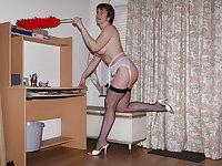 The lovely Miss Jones wears white panties 9.