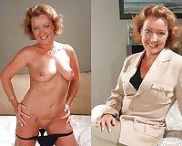 Dressec undressed MILF part 4