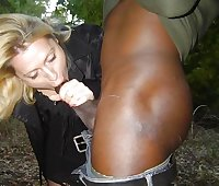 Married white whores sucking black cocks
