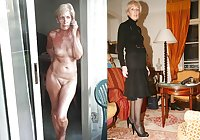 Clothed and Nude 39 Milfs & Matures