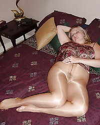 Mature pantyhose from Jimmy 8