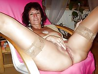 MILF and Hot Mom Pussy Proudly On Display
