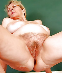 Sexy Mature Hairy! Amateur mixed!