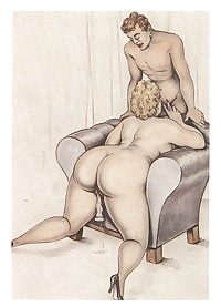 Erotic Vintage drawings