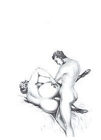 Erotic Vintage drawings