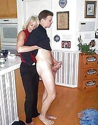Granny loves her man meat