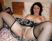 More mature moms and wives posing nude and being used