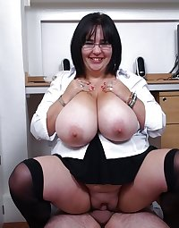 Sexy wives and MILFs in all their natural glory