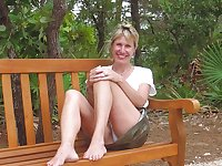 Only the best amateur mature ladies wearing white panties 7
