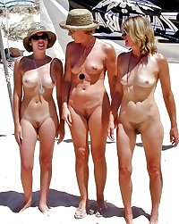 Only the best amateur mature ladies at the beach.5