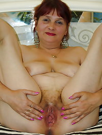 Hairy mature 3 - Saggy tits, boobs