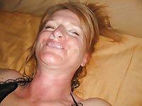 Milf and mature blowjobs and facials 8