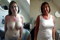 Dressed Undressed! Mature mixed!