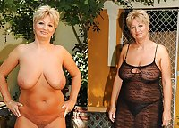 Now More Mature Dressed Undressed Beauties